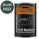 TRISTARcolor Autolack Dose spritzfertig für Audi N6D Natogrün/NATO-Grun Basislack 1,0 Liter 1000ml