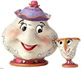 Disney 4049622 Traditions Mrs Potts And Chip Sculpture