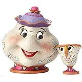 Disney Traditions 4049622 Figurine Mrs Potts and Chip Figurine Multicolore 10 cm