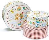Cooksmart Set of 3 Cooksmart Gingerbread Cake Tins