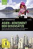 DVDVon den Gipfeln des Himalaya durch die Wüste Gobi bis zu den Kräutergärten Javas - entdecken Sie die schillernde Vielfalt Asiens. Auf 4 DVDs werden 16 spannende Geschichten über besondere Orte und Menschen in Asien präsentiert, die einen faszinier...