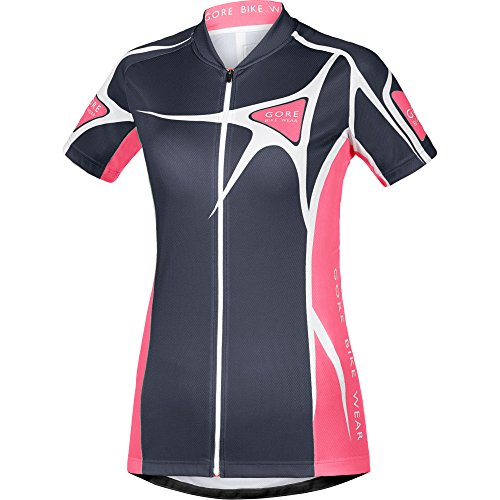 GORE BIKE WEAR Damen Trikot Element Adrenaline 2.0, Graphite Grey/Giro Pink, 40, SLELAD914609