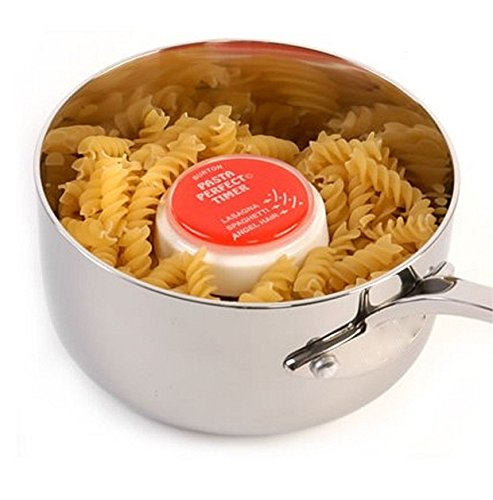 Burton Cooking Tools 013191b013s1V8su Timer Pasta Kunstharz rot 4x 4x 2cm