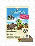Linsor Schildkröten Blumenmischung 50g - Schildkröten Samen, Schildkröten Saatgut, Schildkrötenwiese, Blumenwiese, Blumenmischung