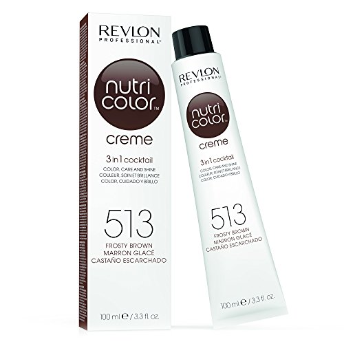 REVLON PROFESSIONAL Nutri Color Creme Nr. 513 Frosty Brown, 100 ml