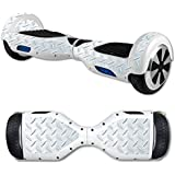MightySkins Skin Self Balancing Mini Scooter Hover Board - Diamond Plate | Protective, Durable Unique Vinyl Decal Wrap Cover | Easy To Apply, Remove Change Styles | Made In The USA