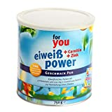 For Your Eiweiß Power Pur Pulver, 750 g
