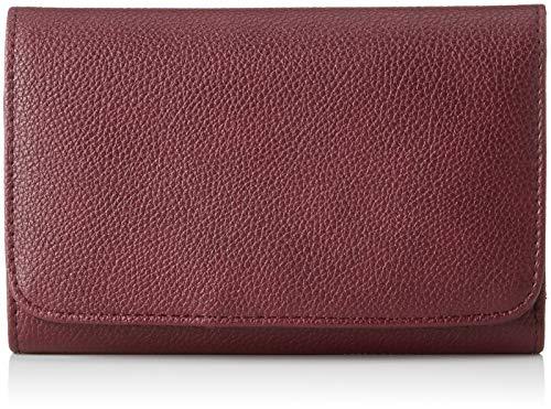 s.Oliver (Bags Damen Portemonnaie Geldbörse, Rot (Raisin) 2x10x16 cm