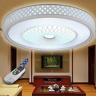 Bang Contemporain Concise LED Flush Peinture acrylique aluminium Light Mount