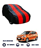 #9: Fabtec Red & Blue Car Body Cover For Maruti Alto K10 (Tirpal)