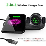 Aimtel 2 in 1 Wireless Charger Duo,Charging Stand&Pad