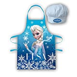 Disney Frozen RNA101344 Kids Apron and Hat Set, 3 To 8 Years