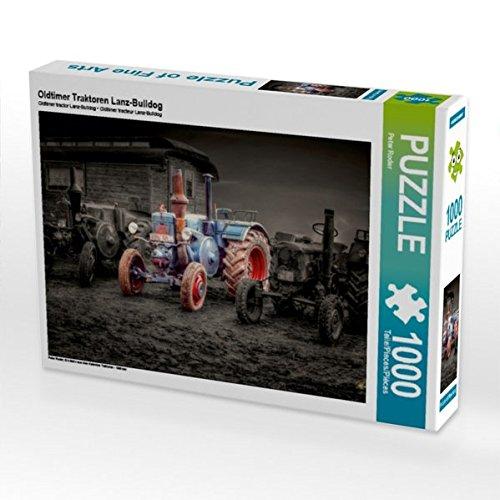 Oldtimer Traktoren Lanz-Bulldog 1000 Teile Puzzle quer