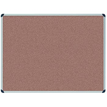 Cork Noticeboard 5373630 900 x 1200 mm - Aluminium Frame