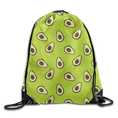 Etryrt Turnbeutel/Bedruckte Sportbeutel, Premium Drawstring Gym Bag, Avocado Fruit Casual Men Drawstring Backpack Heavy Duty Sports Backpack Volleyball -