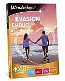 Wonderbox - Coffret cadeau Couple - EVASION EN DUO - 4020 séjours romantiques, repas délicieux, soins relaxants ou sensations sportives