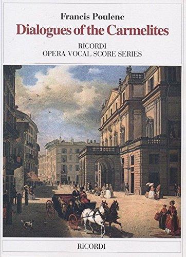 Dialogues of the Carmelites: Vocal Score par From Ricordi
