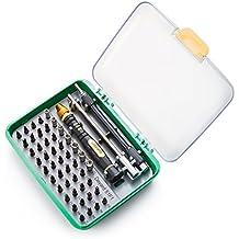 Deyard mejorada SG-456 de destornilladores de precisión - herramientas de la reparación del kit de fijación iPhone portátiles MacBook Smartphone MP3 Xbox relojes, gafas de Juguetes Cargadores con el caso
