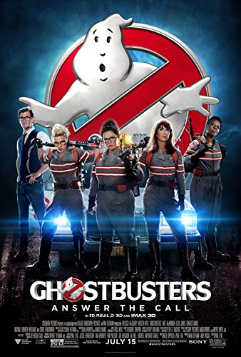 Ghostbusters 32016Movie Poster dimensioni 27,9x 20,3cm