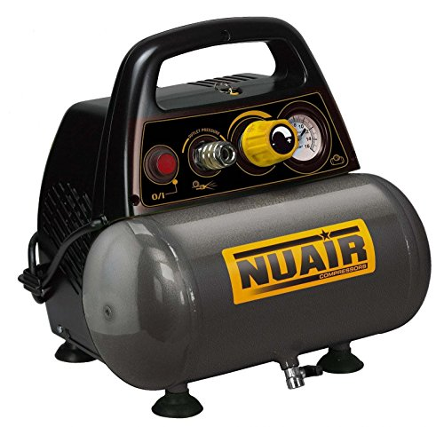 Compressore Nuair New Vento 200/8/6 Motore 1,5 Hp 6 Lt