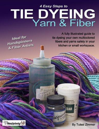 Tie Dyeing Yarn & Fiber (English Edition) Fleece-tie Dye Tie