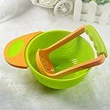 #2: Skudgear BPA Free Mash and Serve Bowl for Making Baby Food (Model 4)