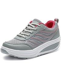 Sneakers grigio scuro per unisex Qzbaoshu