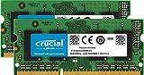 Crucial 16GB Kit (8GBx2) DDR3L 1600 MT/s (PC3-12800) SODIMM 204-Pin Memory for Mac, CT2C8G3S160BMCEU