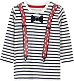 NAME IT Baby-Jungen Langarmshirt NBMREFILM LS TOP Box, Rosa (Dark Sapphire Dawn Pink), 68