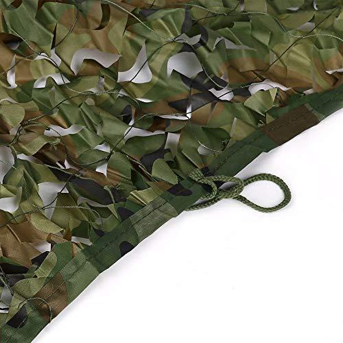Camouflage Netz Woodland Camouflage Net Dekoration Jagd Jalousien können for die Bodenbedeckung versteckte Fahrzeuge Thema Party Dekoration Multi-Größe verwendet werden für Freizeit Camping Bars Jagd