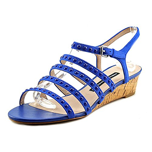 French Connection Winetta Donna US 7 Blu Sandalo
