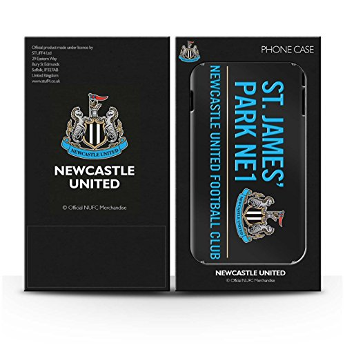 Offiziell Newcastle United FC Hülle / Gel TPU Case für Apple iPhone 4/4S / Pack 6pcs Muster / St James Park Zeichen Kollektion Pack 6pcs