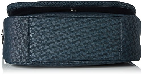 Kipling - Earthbeat M, Borse a tracolla Donna Verde (Dk Emerald Emb)