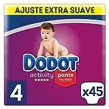 Dodot Activity - Pants Pañal-Braguita Talla 4, Fácil de Cambiar con Canales de Aire, 45 Pañales, 9-15 kg