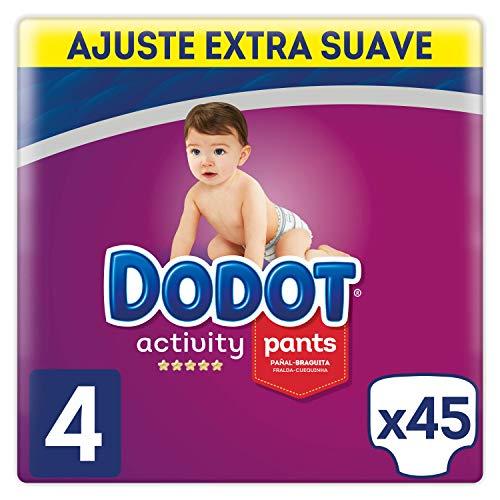 Dodot Activity - Pants Pañal-Braguita Talla 4, Fácil de Cambiar con Canales de...