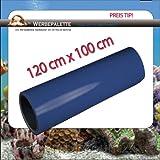 (EUR 5,75 / Quadratmeter) Aquarium Terrarium Rückwandfolie Folie DEEP BLUE 120 cm x 100 cm TOP ! Preistip