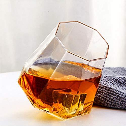Neuheit Tumbler Glas Kristall Glas Bier Gläser Whisky Glas Weingläser Bar Party Beifall 2er Set