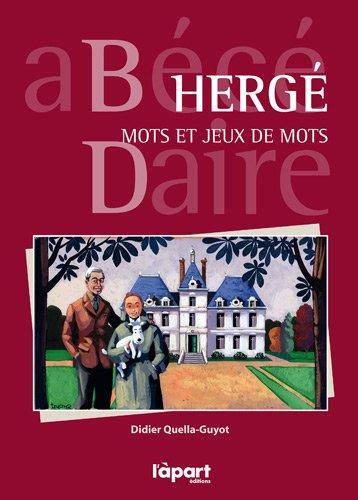 HERGE, MOTS ET JEUX DE MOTS
