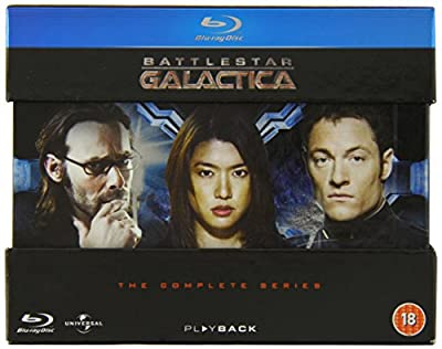 Battlestar Galactica - The Complete Series [Blu-ray] [2004-2009][Region Free] [1978]