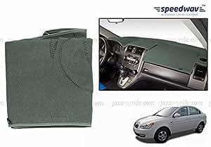 Speedwav Car Dashboard CARPET STYLE GREY-Hyundai Verna Type 1 (2006-2009)