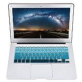 LIUYUNE,Pellicola Protettiva per Tastiera Universale in Silicone a Colori per Computer Portatile per MacBook Air 13 / PRO 13/15/17 Pollici(Color:MEDITERRANEO)