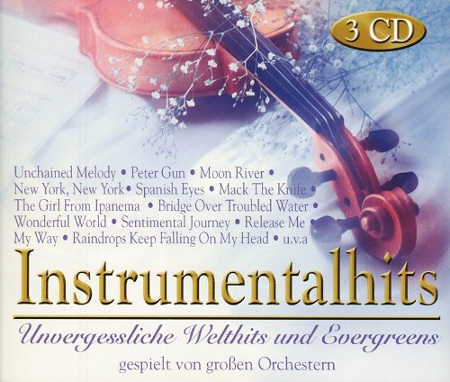 Instrumentalhits - Unvergessliche Welthits und Evergreens - gespielt von großen Orchestern  3CDs