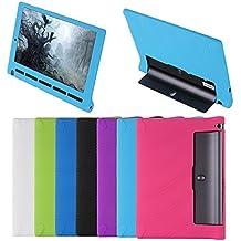 "Meijunter Black Silicona Gel Caucho Caso Cubrir Case Cover Por 10.1"" Lenovo YOGA Tab 3 10 X50F Tablet"