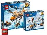 LEGO City Arktis Bundle aus Arktis-Frachtflugzeug (60193) und Arktis-Expeditionsteam (60191)
