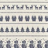 HIGGS & Higgs - Scandi Calico Weihnachten - creme