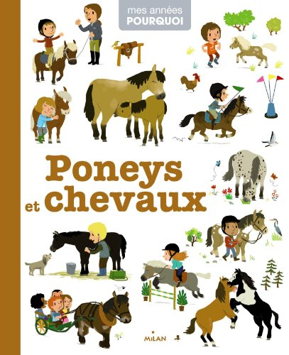 Poneys et chevaux par Marie Brossoni