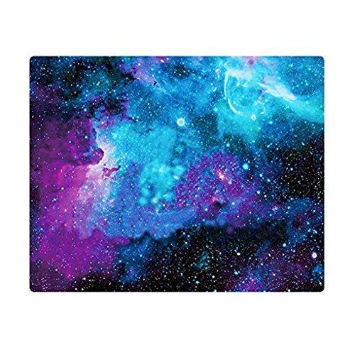 Mengonee Colorido Juego de Ordenador Ratones Esterilla Star Sky Impresión Cómodo Goma de la Oficina Portátil para Juegos Alfombrilla de Ratón