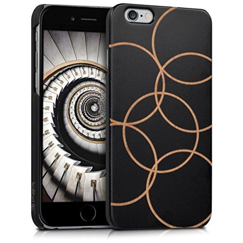 kalibri-Schutzhlle-aus-Holz-mit-Laser-Gravur-fr-Apple-iPhone-6-6S-Premium-Case-Cover-mit-Kunststoff-im-Bubbles-Design