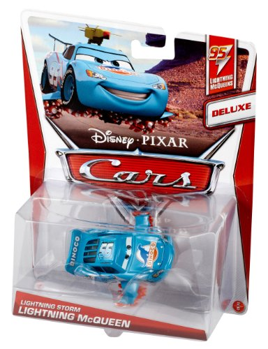 Image of Lightning Storm Lightning McQueen (DeLuxe, Lightning McQueen Series, #2 of 5)