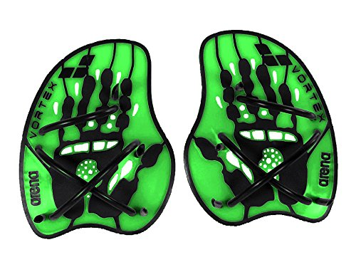 arena Vortex Evolution Hand Paddle, Acid-Lime/Black, L, 95232 (Arena Schwimmen)